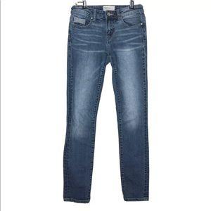 BKE Stella Midrise Crop Jeans with Stretch 24